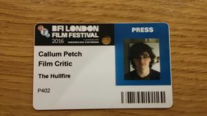 LFF Press Pass
